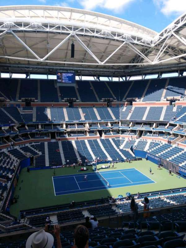 Arthur Ashe Stadium, section: 108, row: M, seat: 7