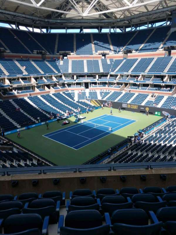 Arthur Ashe Stadium, section: 105, row: E, seat: 7