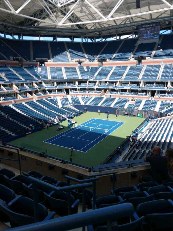 Arthur Ashe Stadium, section: 104, row: E, seat: 7