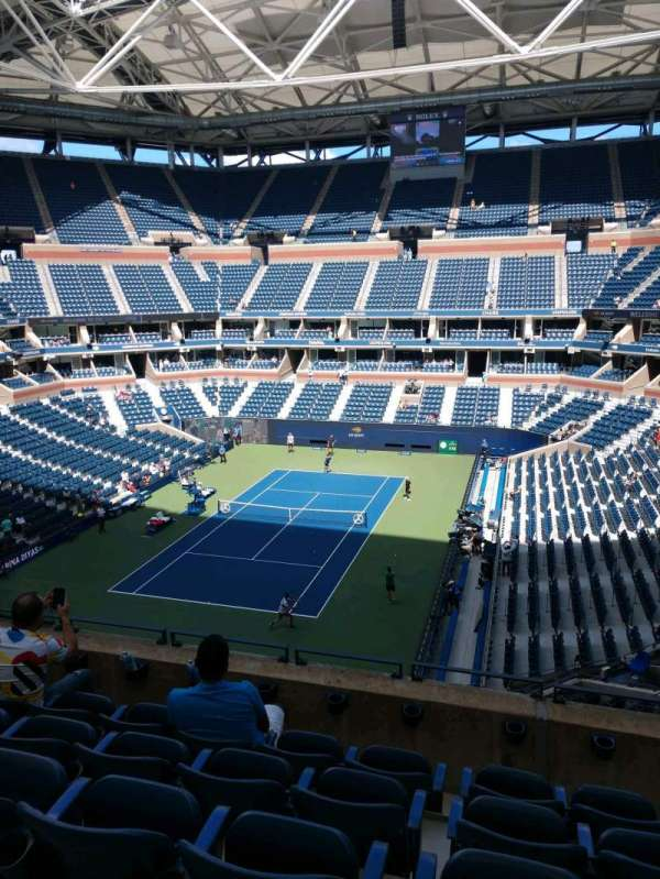 Arthur Ashe Stadium, section: 103, row: E, seat: 7