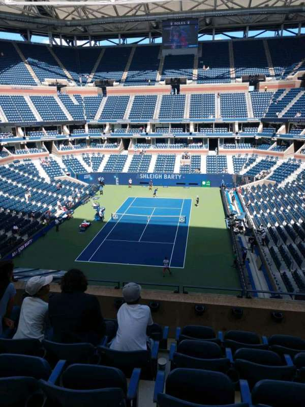 Arthur Ashe Stadium, section: 102, row: E, seat: 7