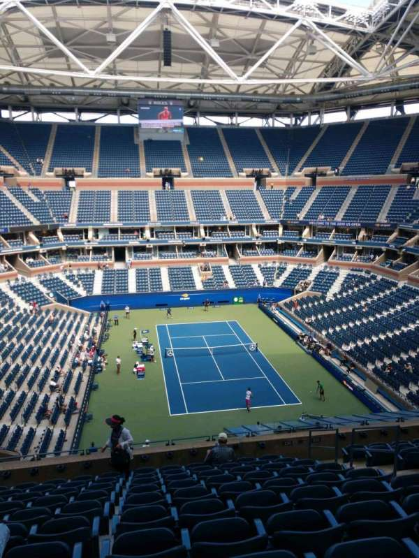 Arthur Ashe Stadium, section: 136, row: K, seat: 7