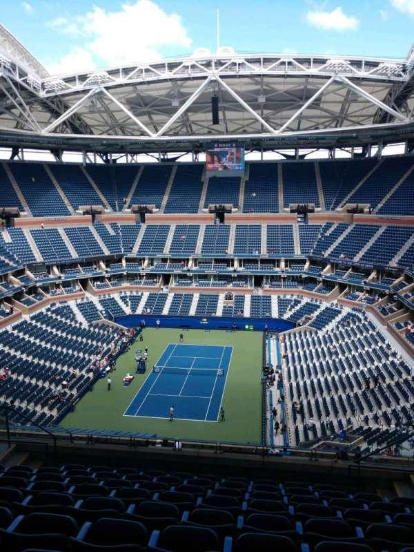 Arthur Ashe Stadium, section: 302, row: J, seat: 7