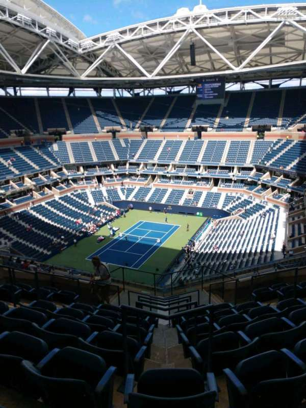Arthur Ashe Stadium, section: 304, row: K, seat: 7