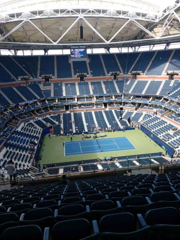 Arthur Ashe Stadium, section: 310, row: O, seat: 10