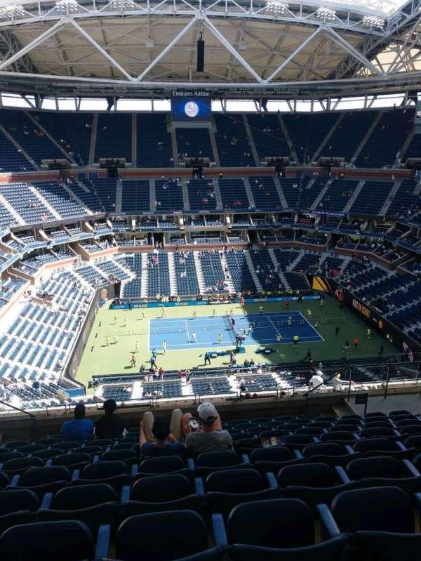 Arthur Ashe Stadium, section: 330, row: K, seat: 10