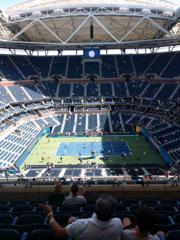 Arthur Ashe Stadium, section: 331, row: K, seat: 10