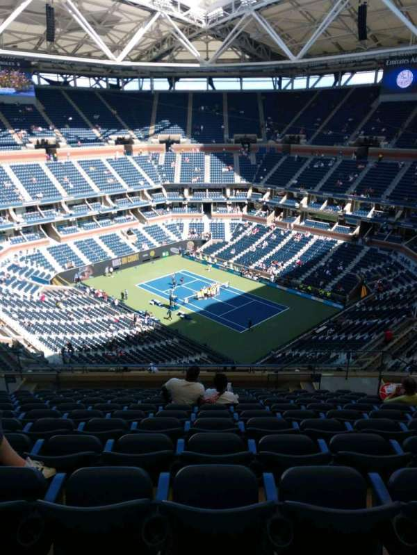 Arthur Ashe Stadium, section: 336, row: M, seat: 7