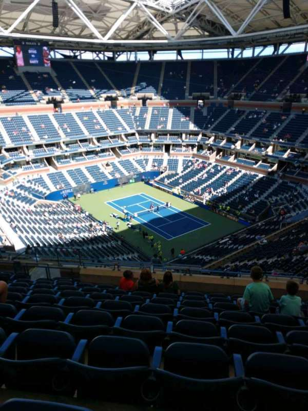 Arthur Ashe Stadium, section: 337, row: M, seat: 10