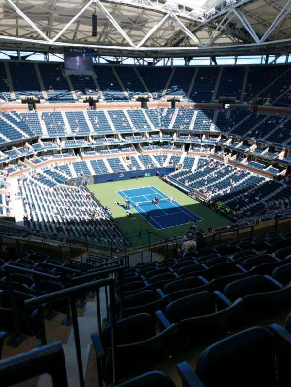 Arthur Ashe Stadium, section: 338, row: M, seat: 7