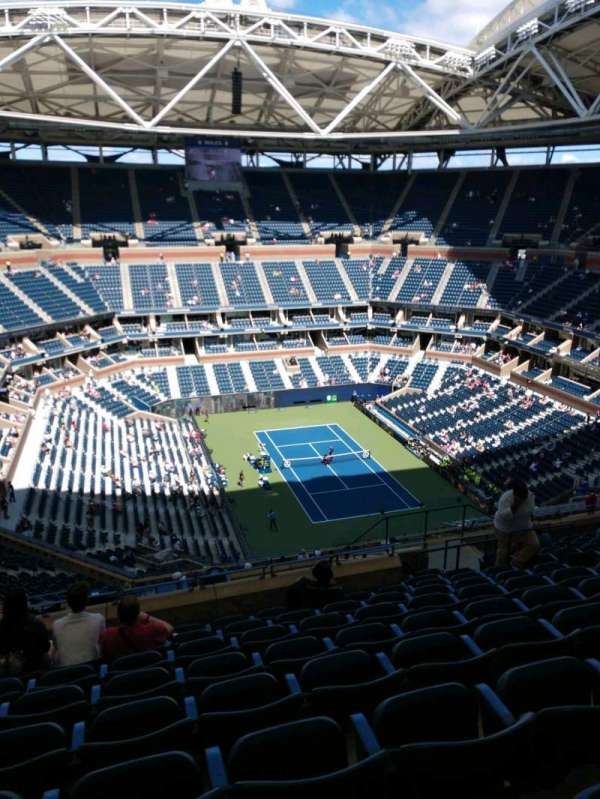 Arthur Ashe Stadium, section: 339, row: M, seat: 10