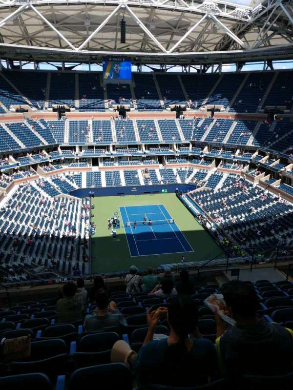 Arthur Ashe Stadium, section: 340, row: K, seat: 10
