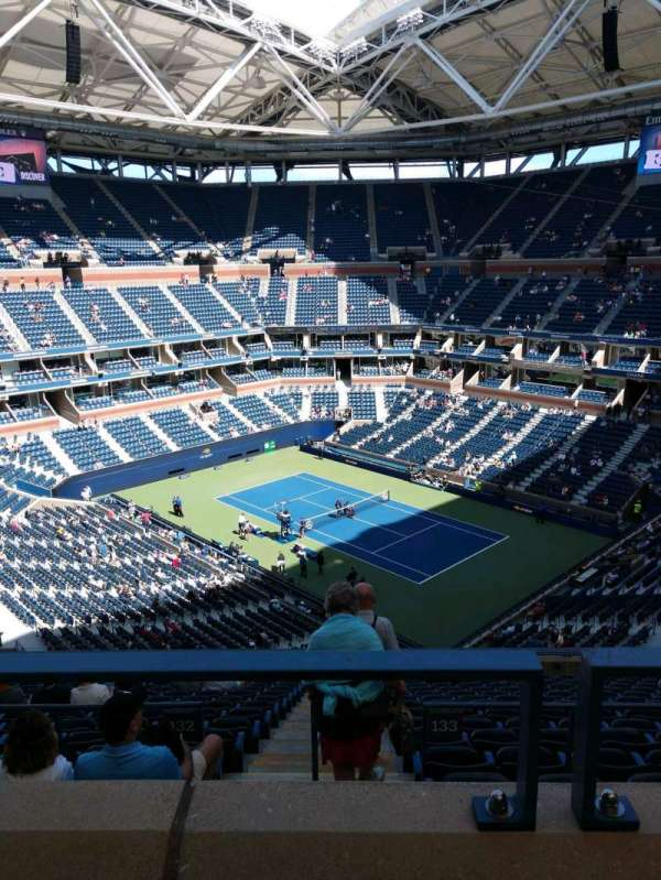 Arthur Ashe Stadium, section: 336, row: A, seat: 5