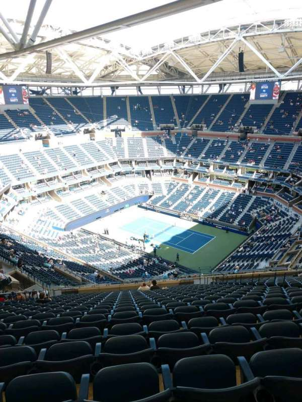 Arthur Ashe Stadium, section: 335, row: Y, seat: 10