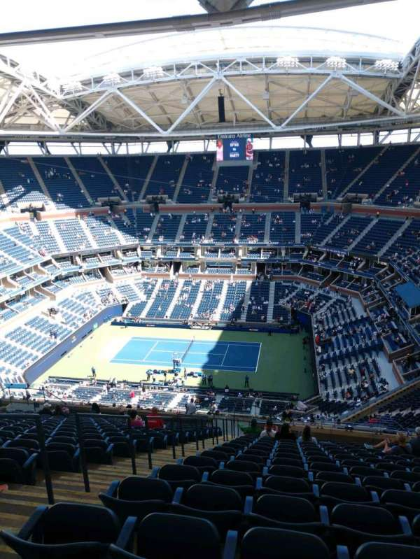 Arthur Ashe Stadium, section: 333, row: T, seat: 16