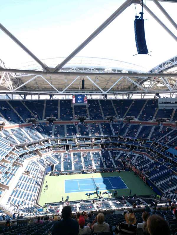 Arthur Ashe Stadium, section: 330, row: Y, seat: 13