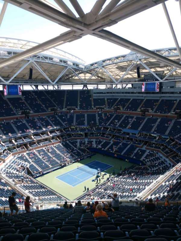 Arthur Ashe Stadium, section: 326, row: Z, seat: 10