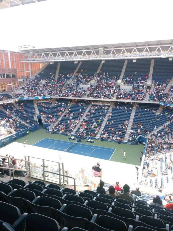 Louis Armstrong Stadium, section: GA East, row: S, seat: 11
