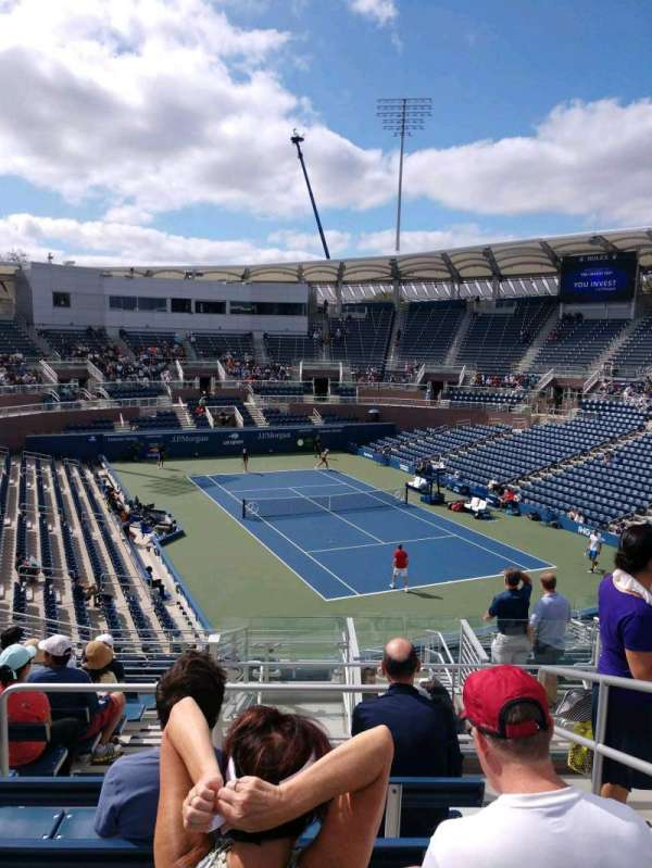 Billie Jean King National Tennis Center, Grandstand, section: FF