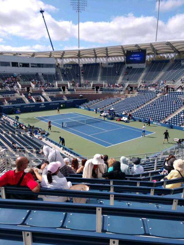 Billie Jean King National Tennis Center, Grandstand, section: EE