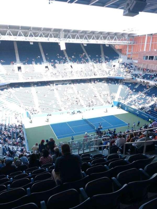 Louis Armstrong Stadium, section: GA West, row: U, seat: 6