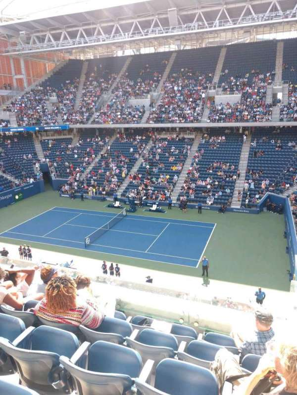 Louis Armstrong Stadium, section: GA East, row: E, seat: 1