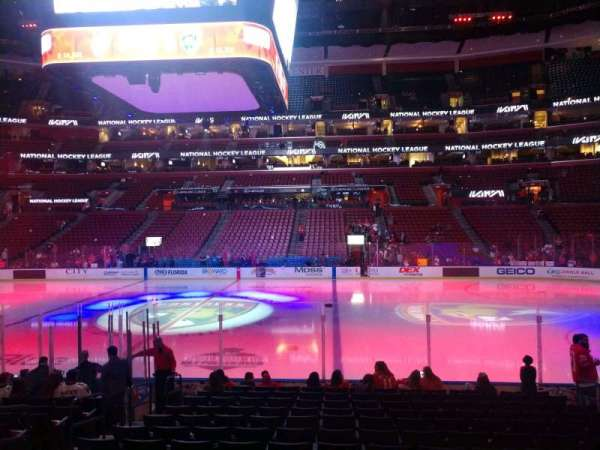 BB&T Center, section: 117, row: 13, seat: 9