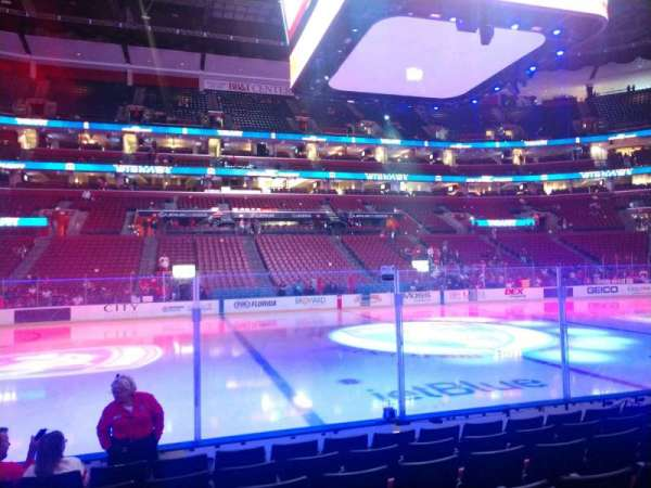 BB&T Center, section: 119, row: 7, seat: 11