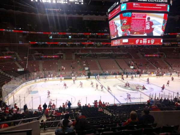 BB&T Center, section: 120, row: 26, seat: 10