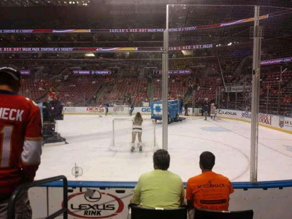BB&T Center, section: 132, row: 4, seat: 6