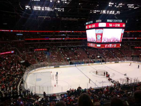 BB&T Center, section: CL20, row: 3, seat: 16