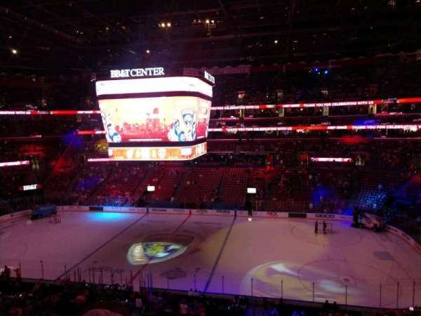 BB&T Center, section: CL17, row: 2, seat: 2