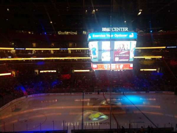 BB&T Center, section: CL02, row: 1, seat: 1