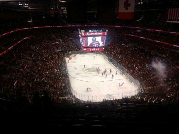 BB&T Center, section: 311, row: 12, seat: 8