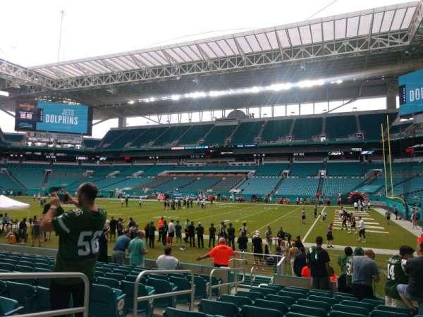 Hard Rock Stadium, section: 114, row: 11, seat: 23
