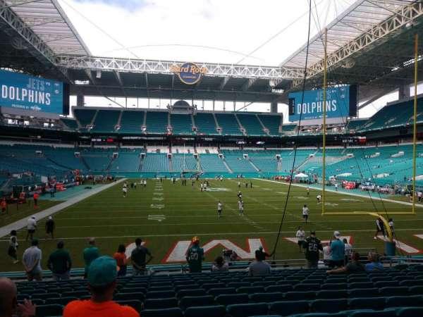 Hard Rock Stadium, section: 133, row: 14, seat: 14