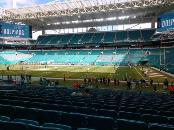 Hard Rock Stadium, section: 143, row: 23, seat: 11