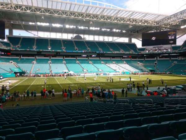 Hard Rock Stadium, section: 149, row: 21, seat: 11