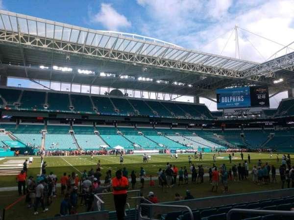 Hard Rock Stadium, section: 150, row: 8, seat: 4
