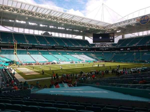 Hard Rock Stadium, section: 153, row: 19, seat: 11