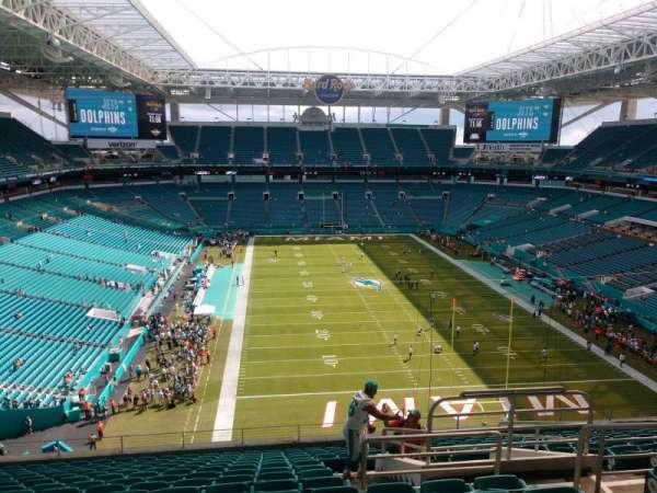 Hard Rock Stadium, section: 306, row: 15, seat: 5
