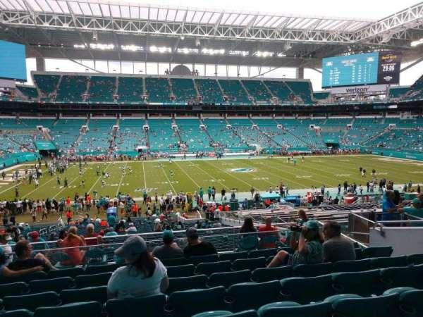 Hard Rock Stadium, section: 248, row: 8, seat: 10