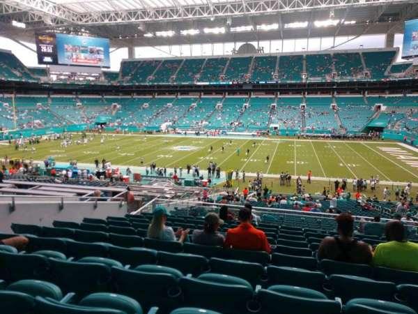Hard Rock Stadium, section: 244, row: 11, seat: 11