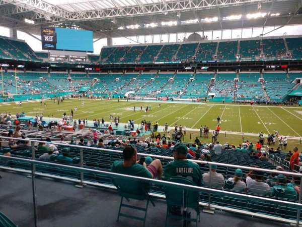 Hard Rock Stadium, section: 244, row: 2, seat: 4