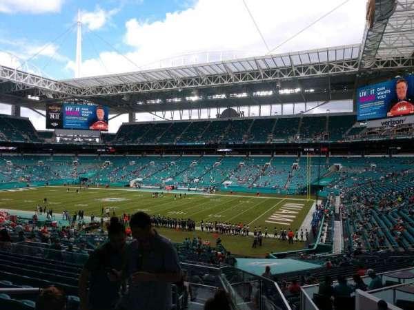 Hard Rock Stadium, section: 241, row: 11, seat: 19