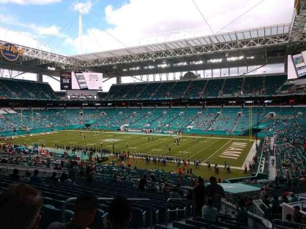 Hard Rock Stadium, section: 241, row: 17, seat: 19