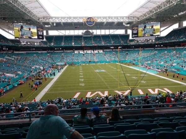 Hard Rock Stadium, section: 233, row: 6, seat: 15