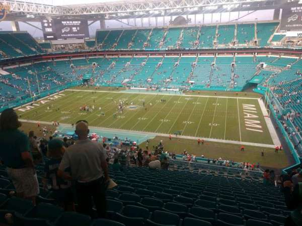 Hard Rock Stadium, section: 343, row: 24, seat: 10