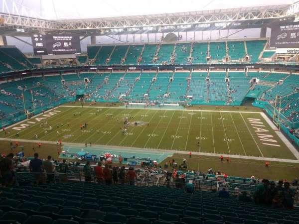 Hard Rock Stadium, section: 344, row: 23, seat: 10