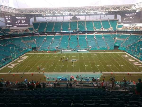 Hard Rock Stadium, section: 346, row: 24, seat: 10